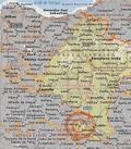 Mapa Comunidad Foral de Navarra