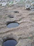 System of compilation and water storage of the culture tayólica, Minorca, Balearic Islands