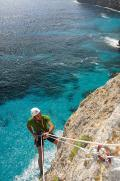 Climb in The Mola, Formentera, Balearic Islands